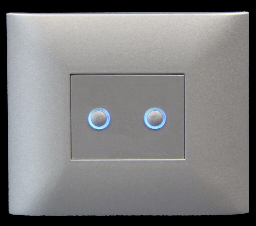 domintell classic-line 2x lightgrey dpbt02lg