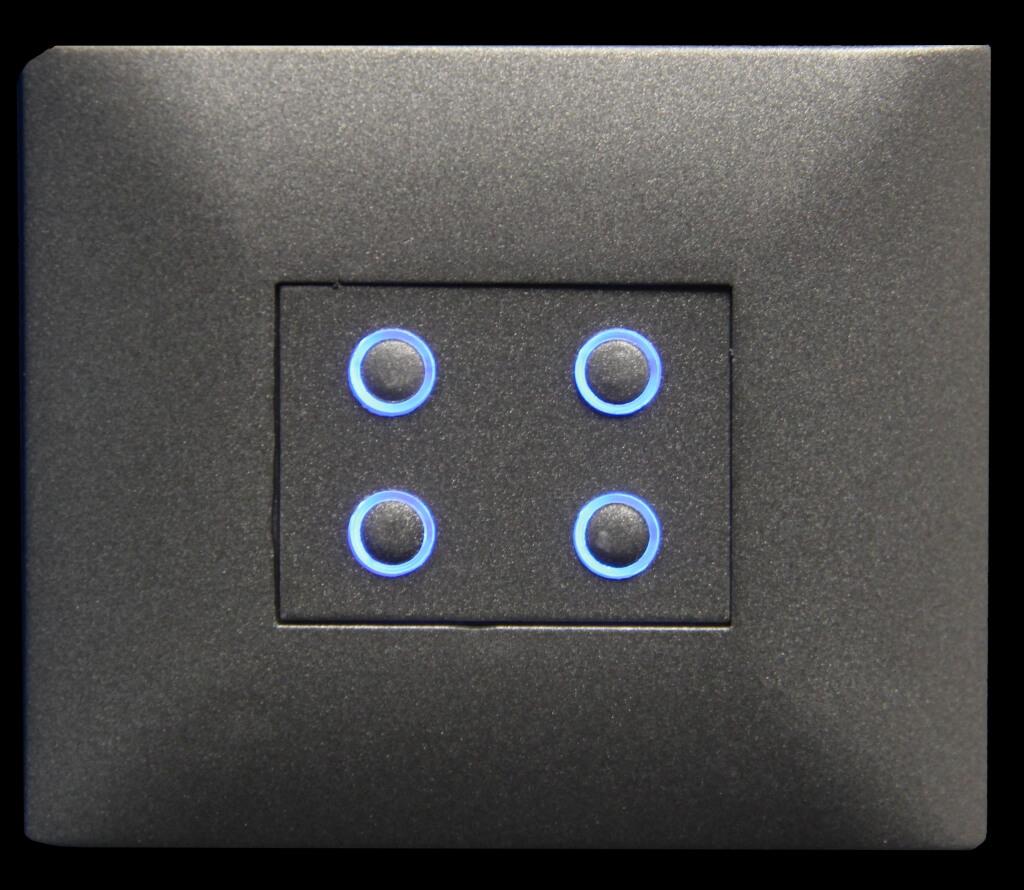 domintell classic-line 4x darkgrey dpbt04dg